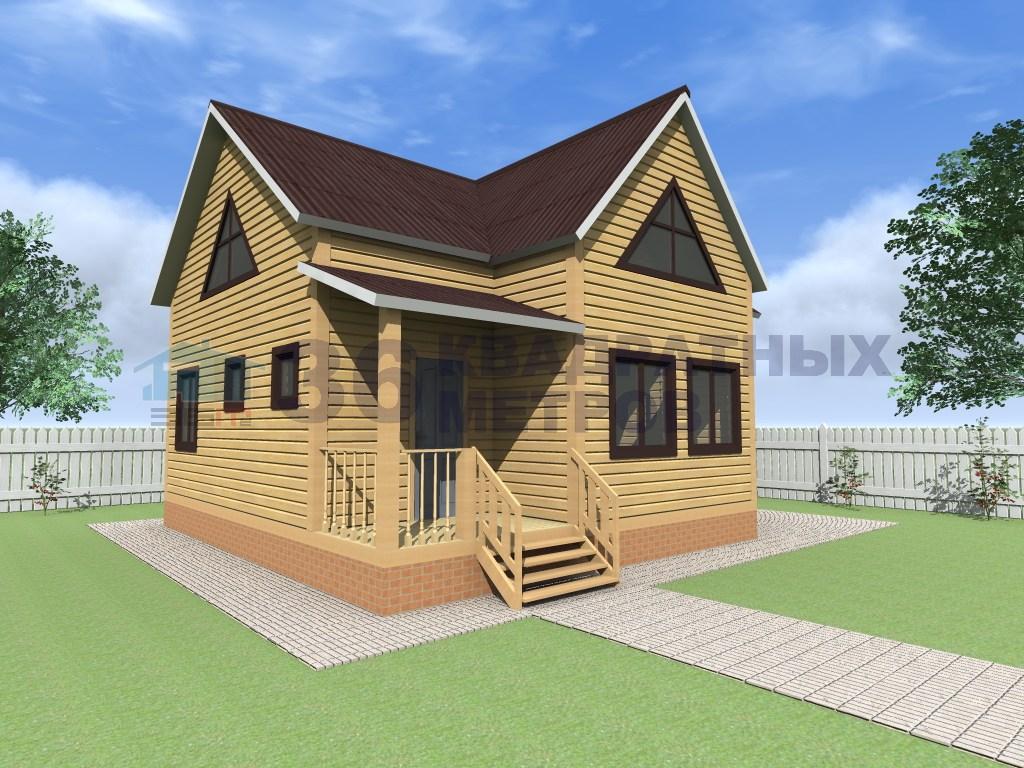 дом 5 на 9 двухэтажный Дополнительное